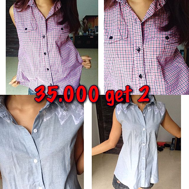 Unbranded Sleeveless Shirt