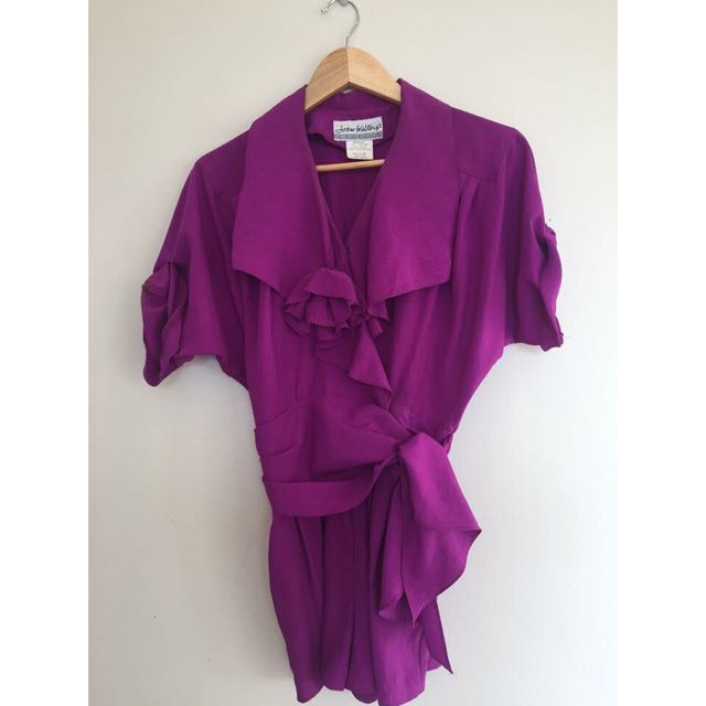 Vintage Purple Jumpsuit