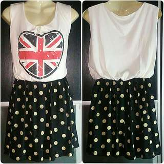 Union Jack Short Dress