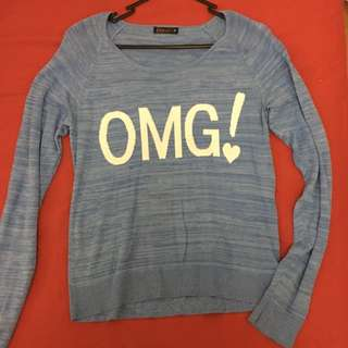 """OMG"" Long Sleeved Shirt"
