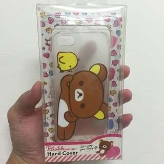 Rilakkuma 拉拉熊 透明彩繪硬式手機殼  iPhone 5 5s SE