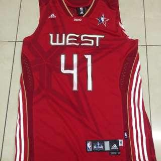 NBA 2010明星賽 德州坦克 球衣