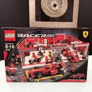 Lego Racer 8144 From Year 2009