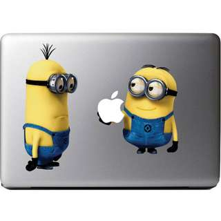 """Minions Despicable Me Apple MacBook Air/Pro 13"""" Sticker Decal Vinyl Skin FREE DELIVERY 12 sold 8 units in stock left"""