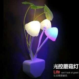 Lampu Tidur Model Jamur