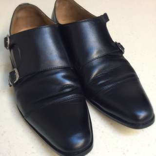 Archules Cap Toe Double Monkstraps UK9