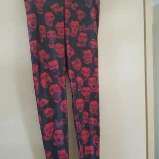 BLACK MILK ZOMBIE LEGGINGS L