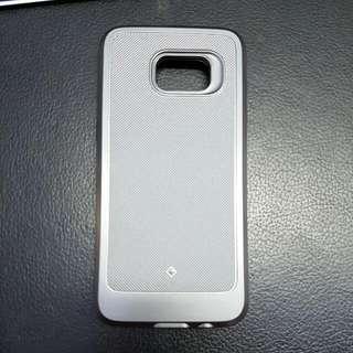 Samsung S7 Edge Case Silver