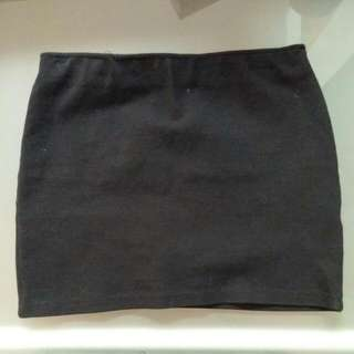 Zara Black Mini Skirt S