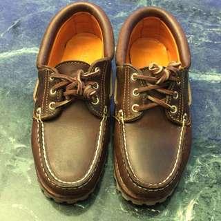 Timberland 牛皮帆船鞋