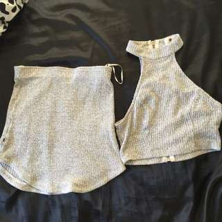 Grey Two Piece Set *ON HOLD*