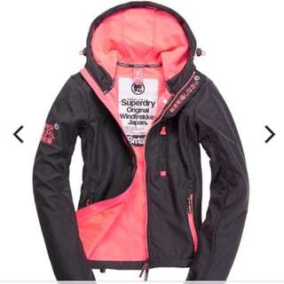 Superdry Windtrekker Jacket (size M)