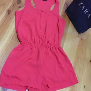 Red Jumpsuit size S