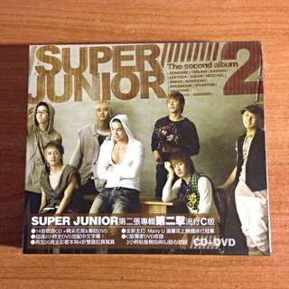 《贈送》super junior 2專c版