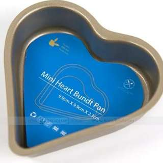 Clearance! Mini Heart Bundt Pan