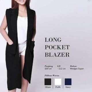 Long Pocket Blazer