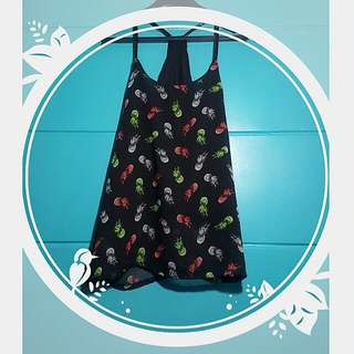 Halter Black Pineapple