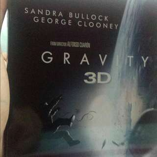 "MOVIE: ""GRAVITY"" Blu-Ray Disc (With 3D)"