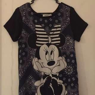 Minnie Mouse Shirt Dress