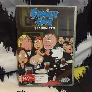 Family Guy Season 10