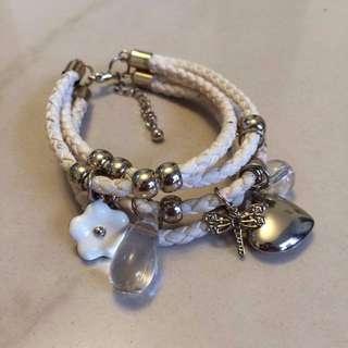 Light Gold Rope Bracelet
