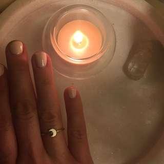 Karen Walker Moon Ring