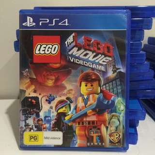 """Ps4 game """"The lego movie"""""""