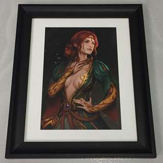 Triss Merigold (The Witcher) Framed Print
