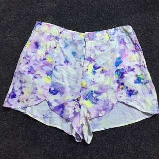 Mink Pink High Waisted Shorts Size M