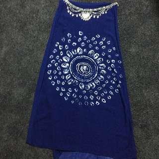 Blurr High Waisted Maxi Skirt Size 10