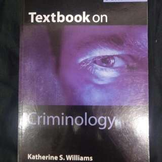 Sociology Of Crime Textbook