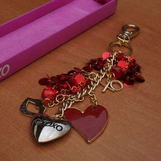 Heart-shaped Keychain / Handbag charm