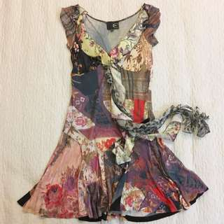 Just Cavalli Dress (Luxury Brand)
