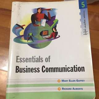 Essential of Business Communication 5