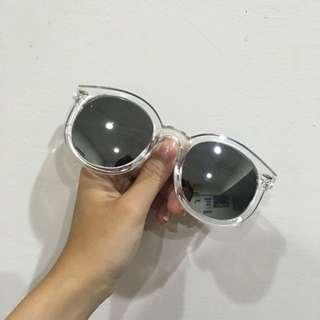 韓風透明太陽眼鏡
