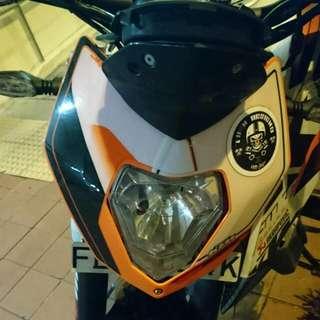 KTM Duke 390 Head Cowling