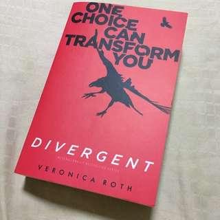 Brand New Divergent Book