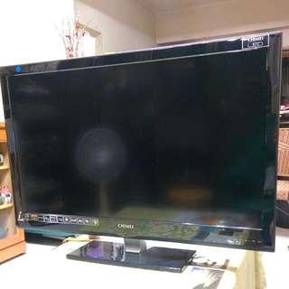 二手CHIMEI超薄37吋LED液晶電視