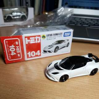 TAKARA TOMY LOTUS EVORA GTE 104