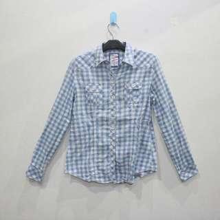 Plaid Blue Country Shirt