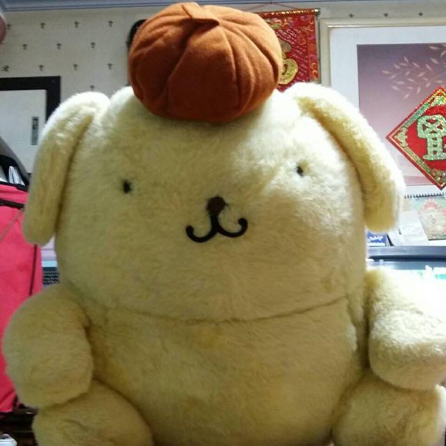 (二手99.9成新)中大隻可愛布丁狗娃娃