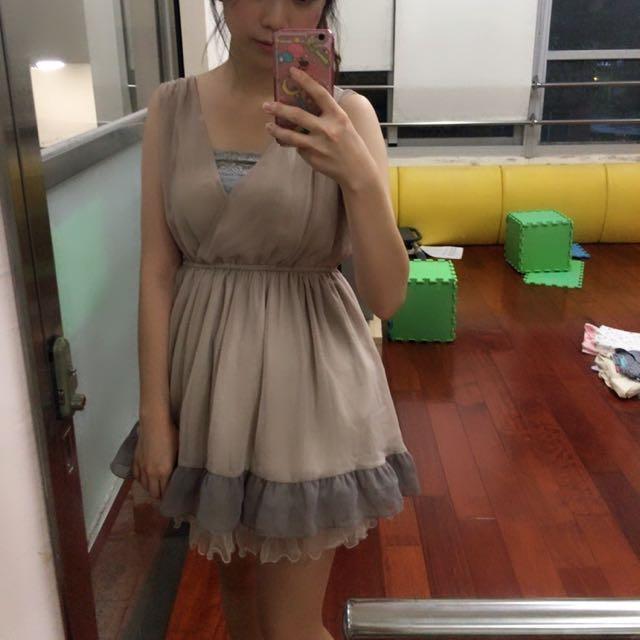 洋裝 高跟鞋