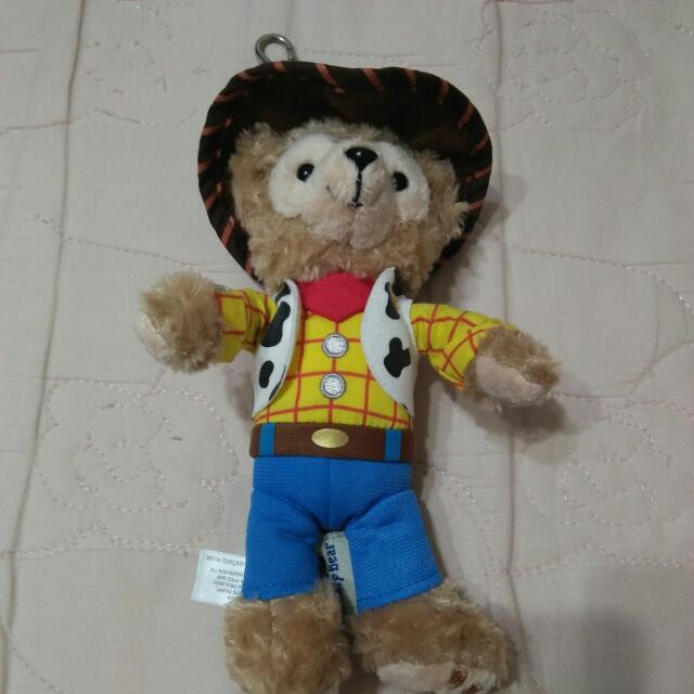 香港迪士尼 正版達菲
