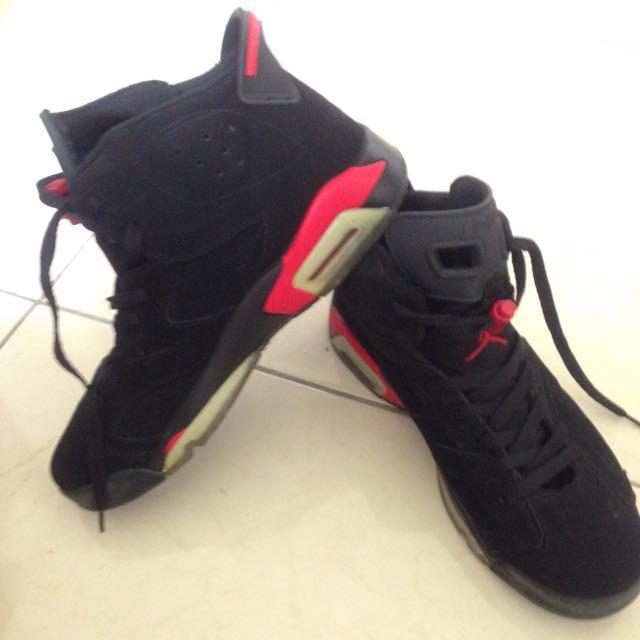急售Air Jordan六代紅外線大魔王