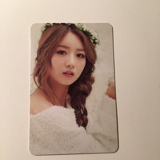 APink - Bomi Photocard (Rare)