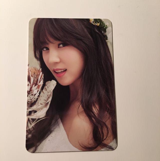 APink - Chorong Photocard (Rare)