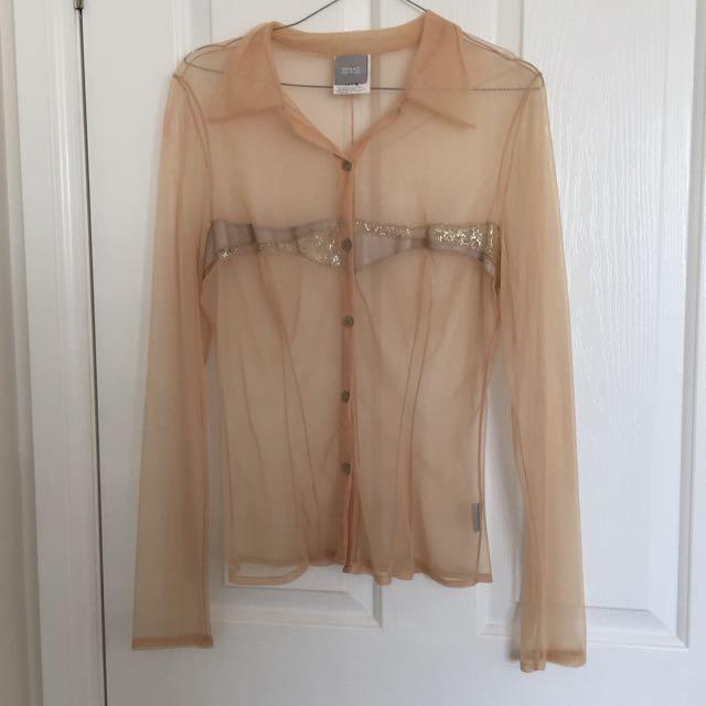 Authentic Versace Blouse Top