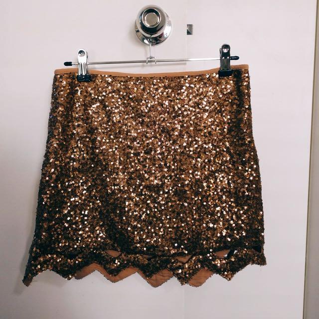 Blurr Sequin Skirt