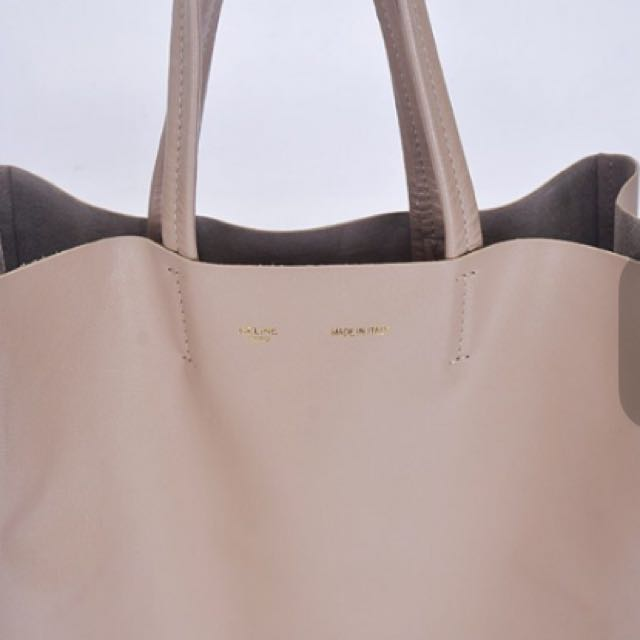 真品Celine Cabas Tote Bag 頂級小羊皮 主打熱賣款