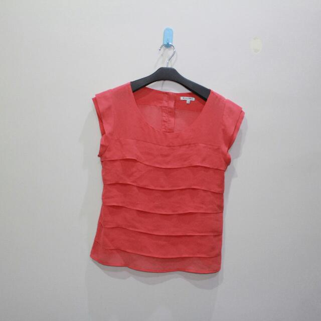 COLORBOX - Peachy Pink Top